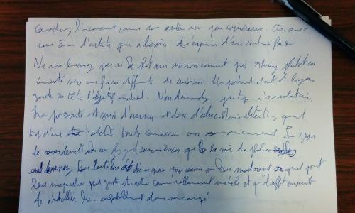 Ecriture automatique