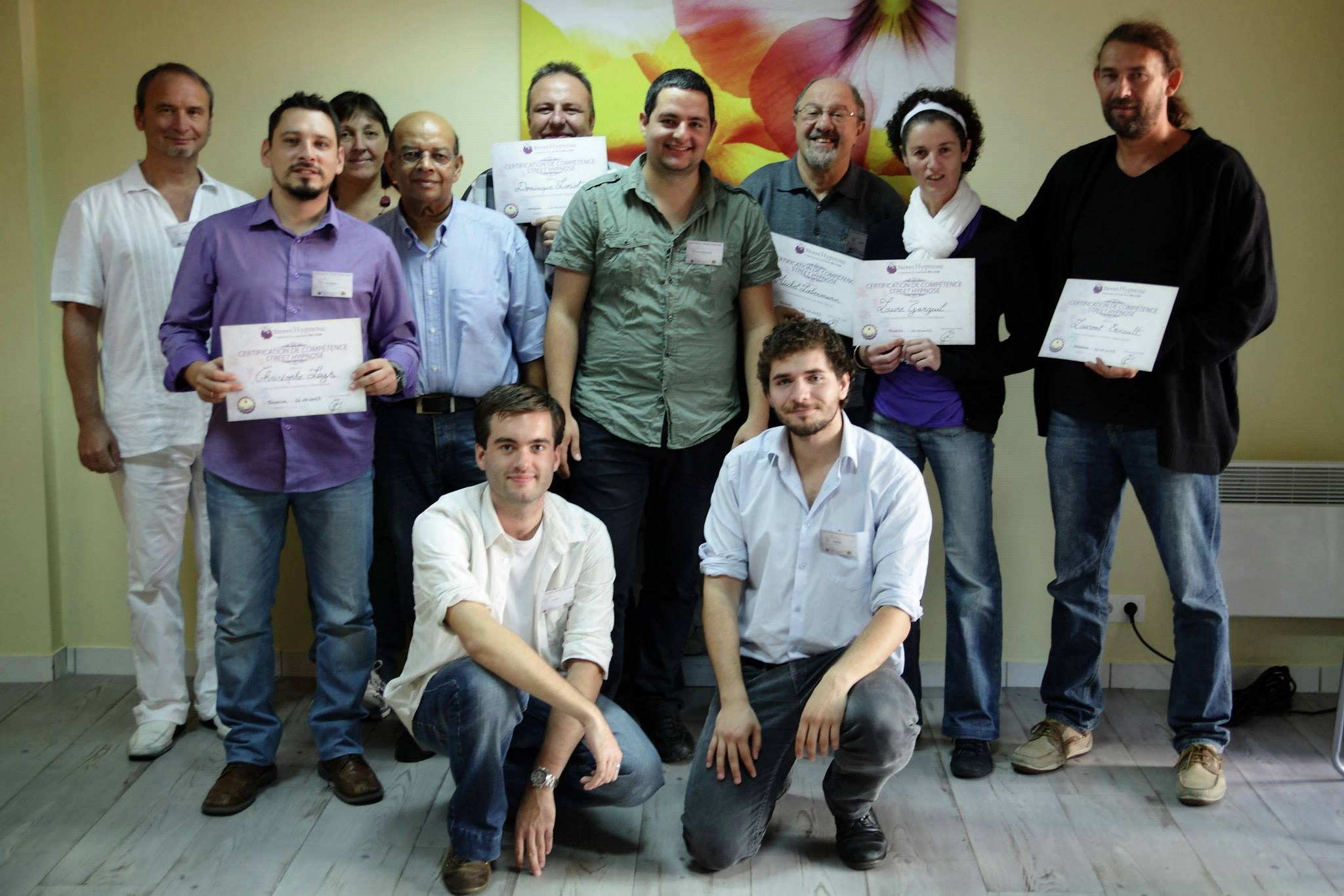 Groupe formation Street Hypnose